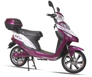 Cina Sepeda Motor Listrik Kuat Commuter Electric Scooters For Teenagers pabrik