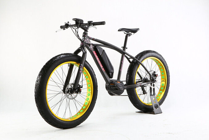 48V 10Ah Fat Tire Mountain Electric Bike 350W Electric Powered Mountain Bike pemasok