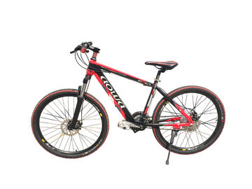 26 '' Red Specialized Mountain Electric Bike / Electric MTB Dengan Alloy Aluminium Alloy