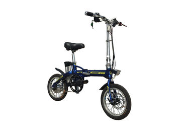 Lithium Bicycle Li - Ion Battery, Aluminium Alloy Frame Foldaway Electric Bike