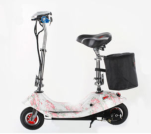 24V 250W White Fold Away Scooter Listrik 2 Wheel Folding Power Scooter